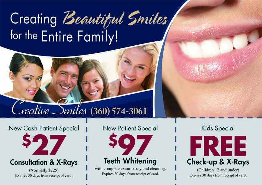 dental marketing postcards