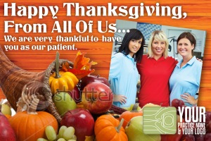house painter contractor interior exterior thanksgiving cards marketing painting